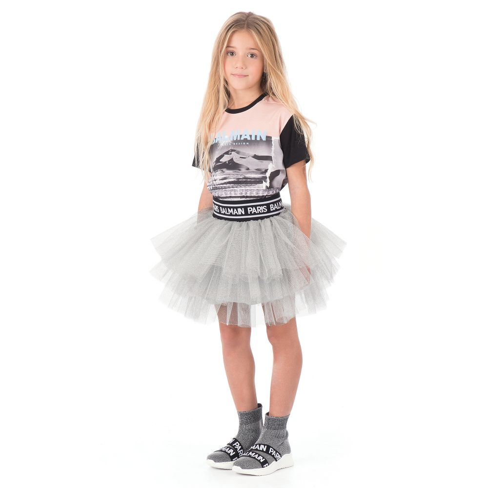 Silver Sock Trainers | Childrensalon Outlet