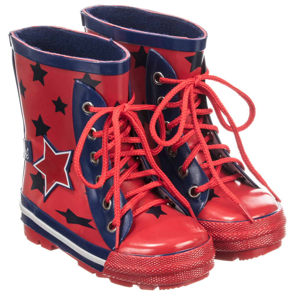 RoseRed Rain Boots Number Bladeamp; Blue Product 195413 Childrensalon Outlet nkwOP0