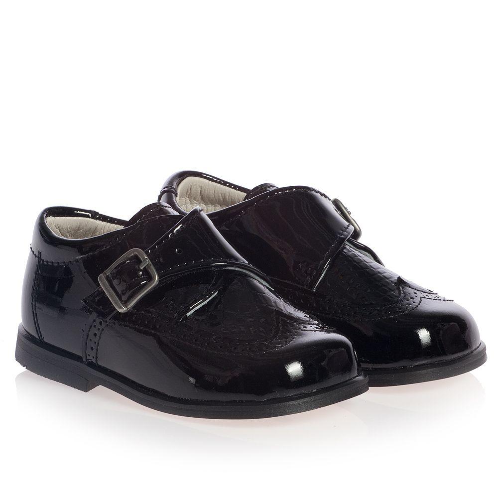 4403a17e26 Children s Classics - Boys Black Patent Leather Shoes ...