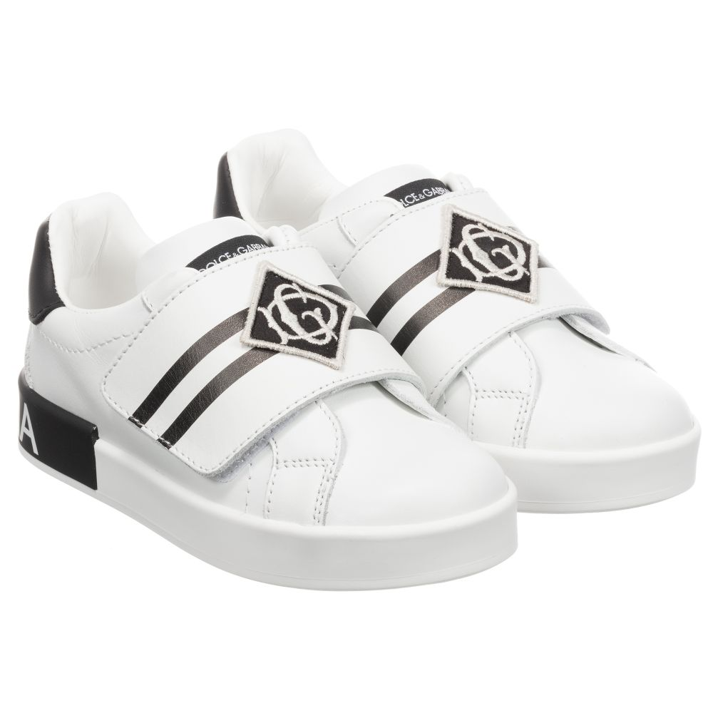 Dolce \u0026 Gabbana - Boys White Leather