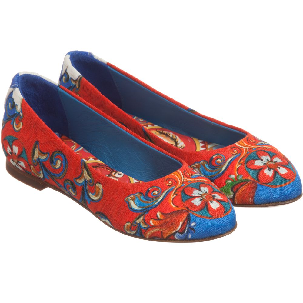 Siciliano  Shoes Brocade Gabbana amp  Girls Dolce  carretto Iw08xqT1w b97b96e83a6