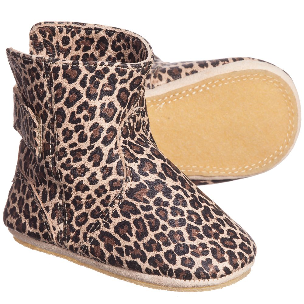 Print Product 'bobottes' PeasyLeopard Easy Number Outlet Childrensalon Slipper 111659 Boots Leather 8n0XwPZkNO