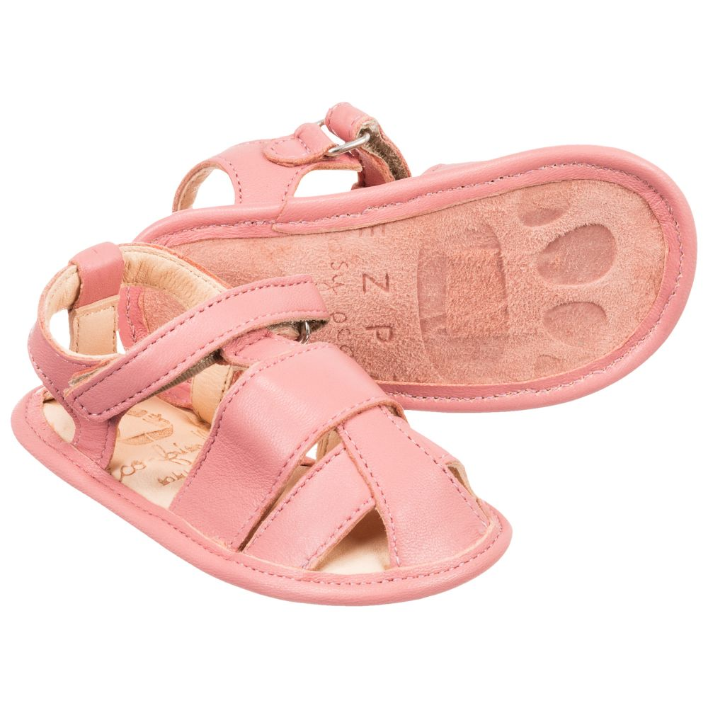Outlet Baby 208336 Childrensalon Number PeasyPink Leather Easy Sandals Product OiXPZwkuT