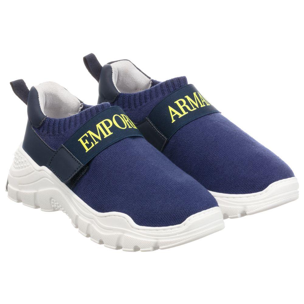 Emporio Armani - Boys Navy Blue Sock