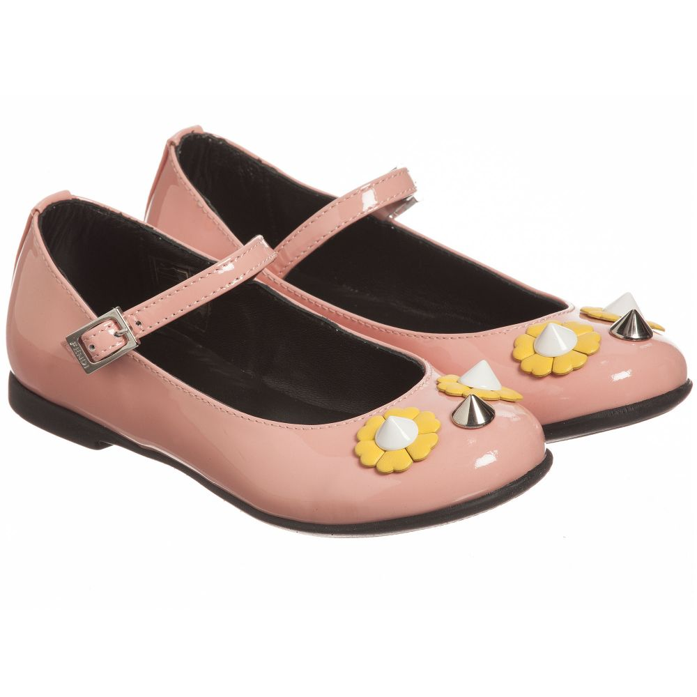 Childrensalon chan Outlet Number Piro Pink Shoes 178622 FendiGirls Product Rq34c5AjL