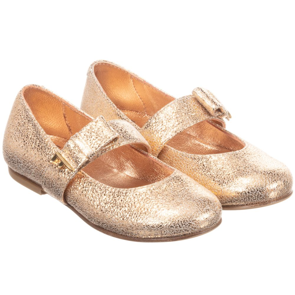 rose gold dress shoes for girls