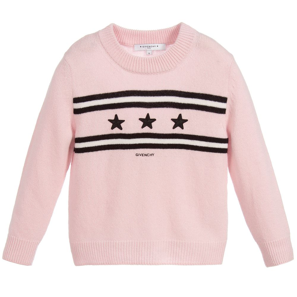 6f665bd8645f Givenchy Kids - Girls Wool   Cashmere Sweater