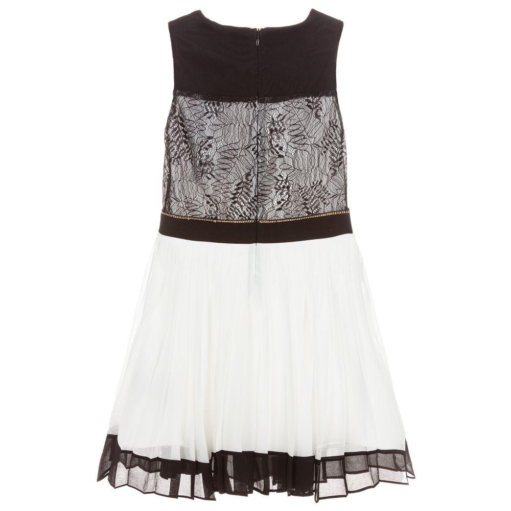 Girls Chiffon Lace Dress
