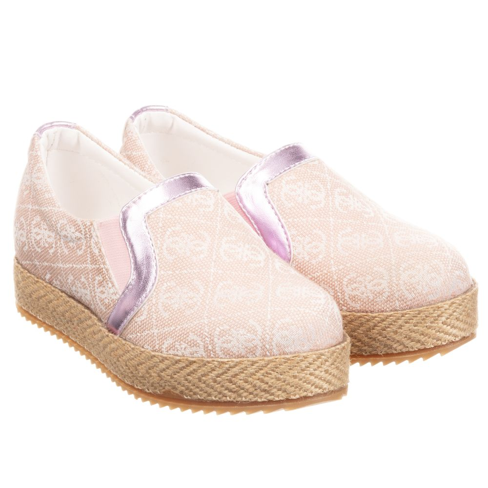 Guess - Teen Girls Pink Slip On Shoes