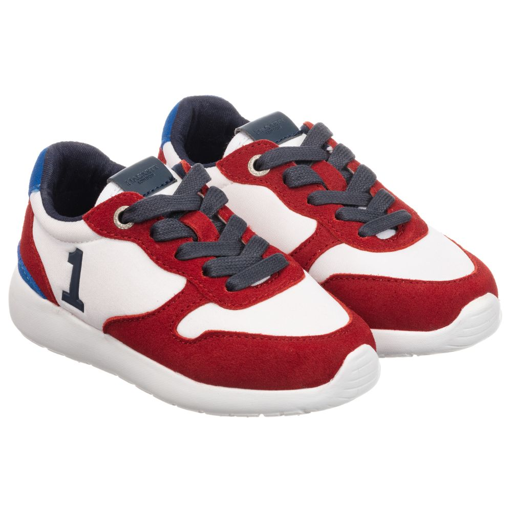 White Suede Trainers | Childrensalon Outlet