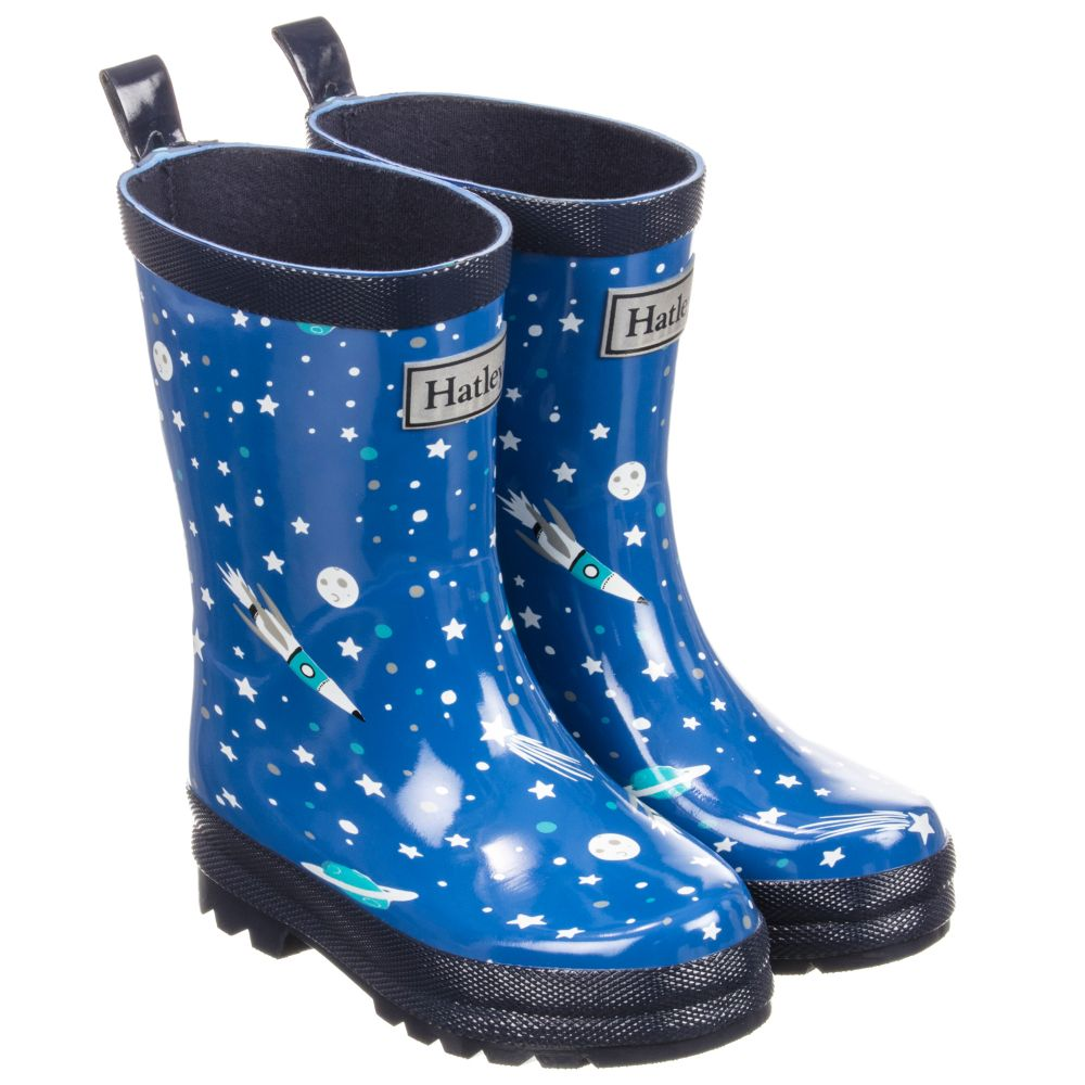 Boots Number Childrensalon Blue Outlet 215460 HatleyBoys Rain Product nO0kXNZwP8