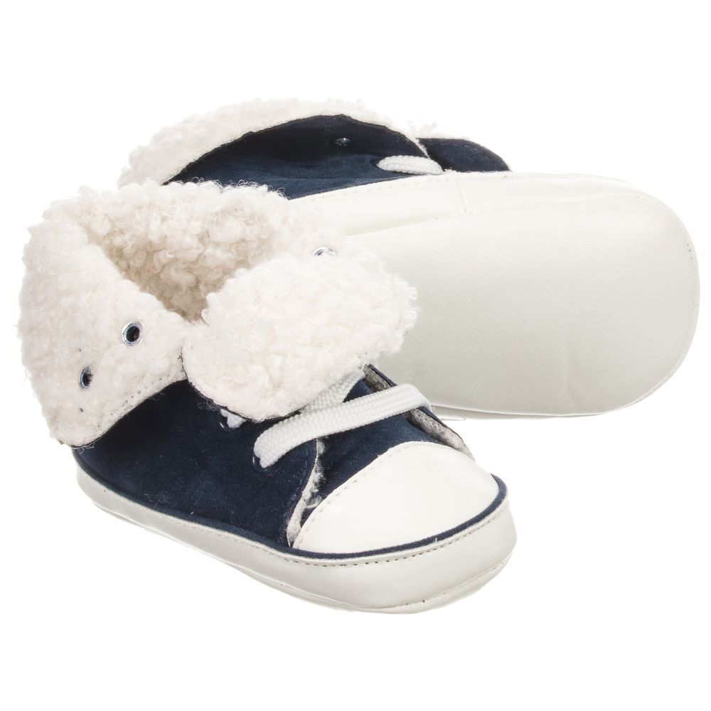 MiniBoys Shoes Blue Pre walker Ido Childrensalon Product Number Outlet 185376 0wvnN8Om