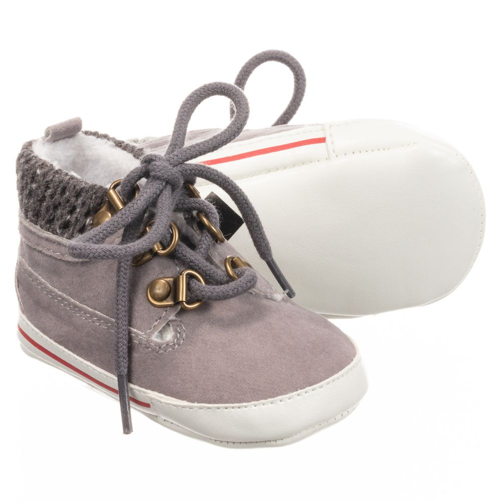 MiniBoys walker Childrensalon Shoes Outlet Ido 269596 Number Grey Pre Product dhQsrt