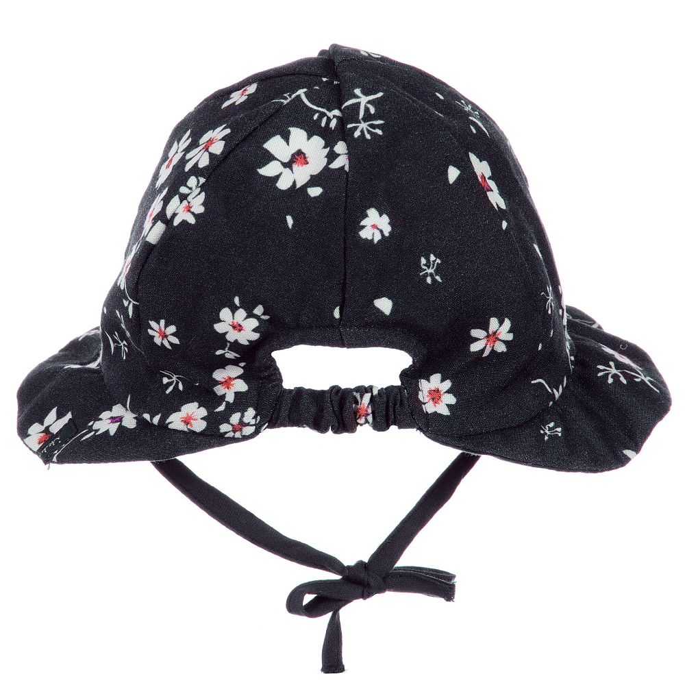 2 years Baby Girls Toddler Summer Hat Cap Scarf Cotton Elasticated Back 6 mths