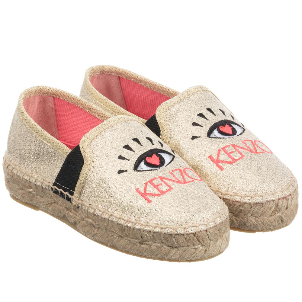 Kenzo Kids - Girls Gold Glitter