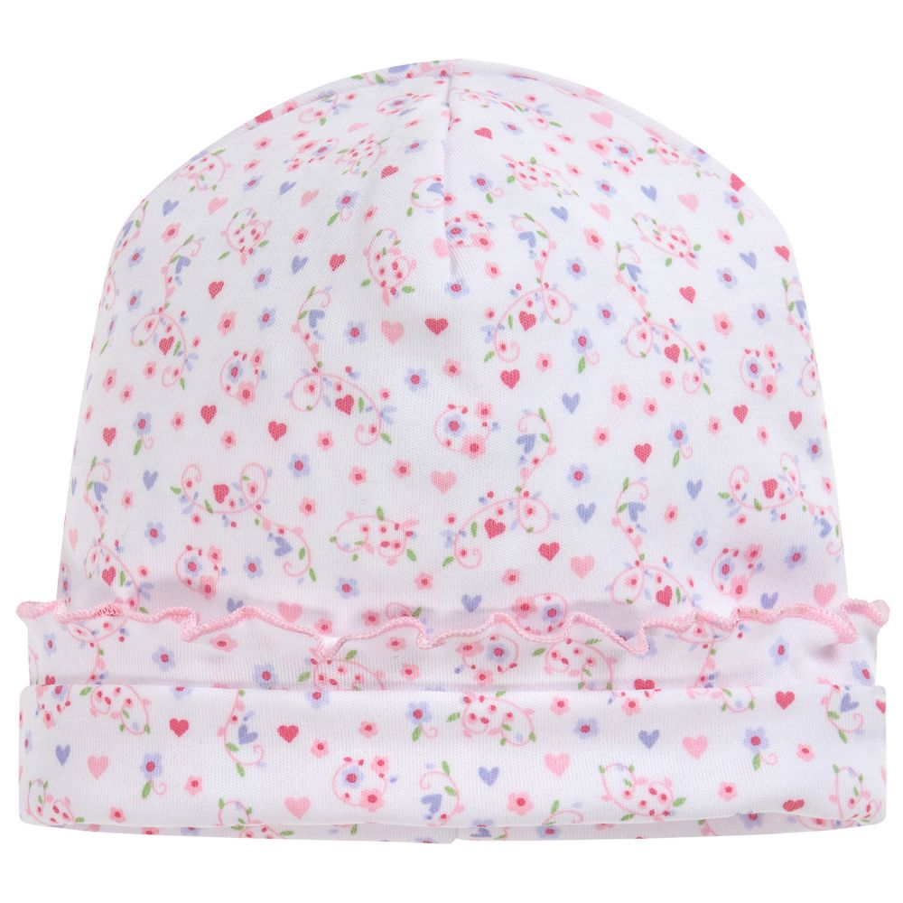 Kissy Kissy - Baby Girls Pima Cotton Hat  c314dd40a0f