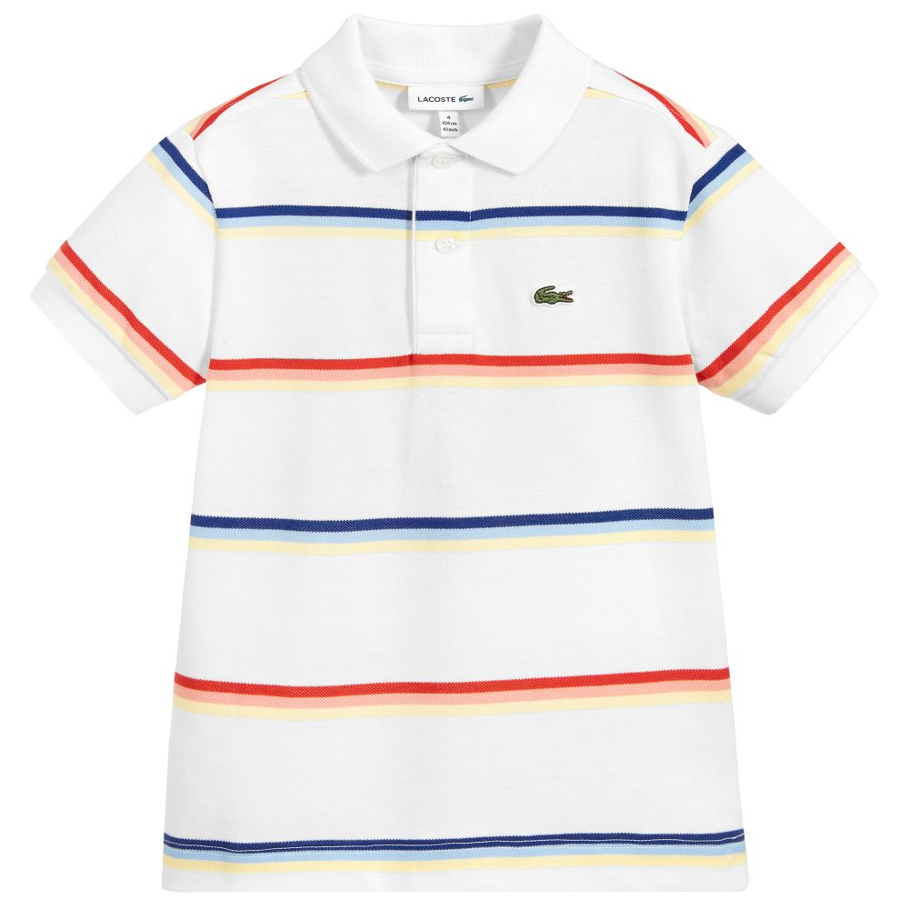 low priced d6f21 ccad5 White Cotton Polo Shirt