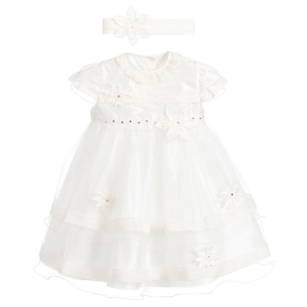 9dc82fdb6f24f Little Darlings - Baby Girls Occasion Dress Set | Childrensalon Outlet