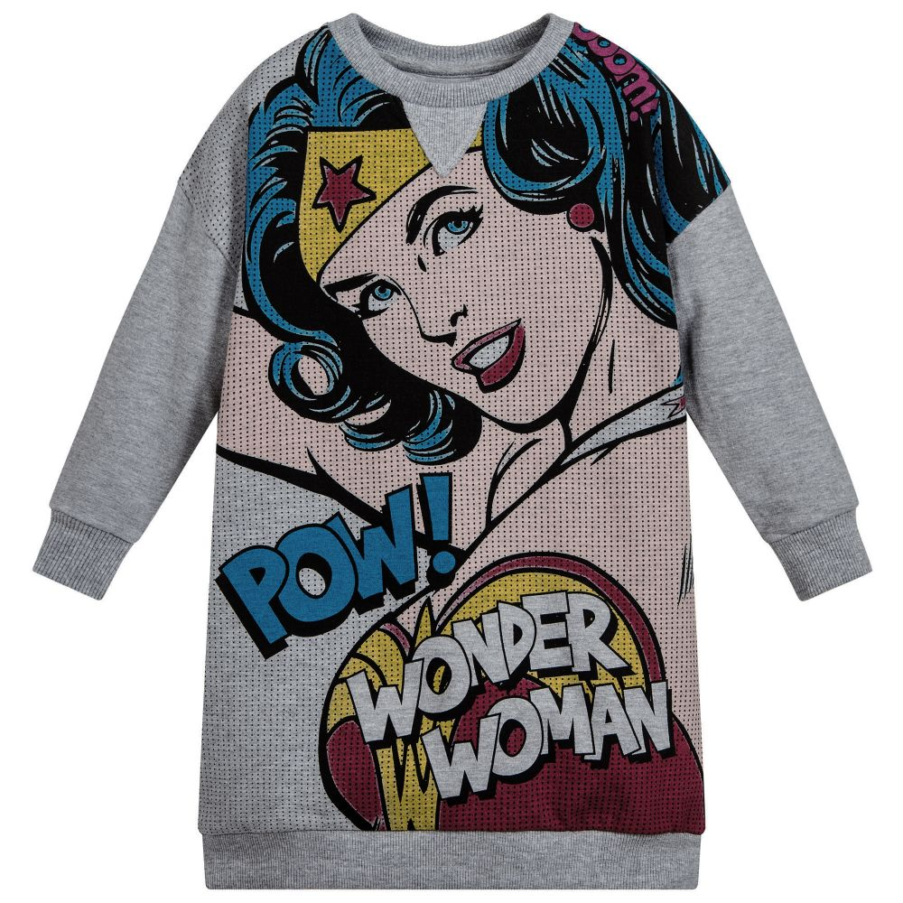 93580ffcd Little Eleven Paris - Girls 'Wonder Woman' Dress | Childrensalon Outlet