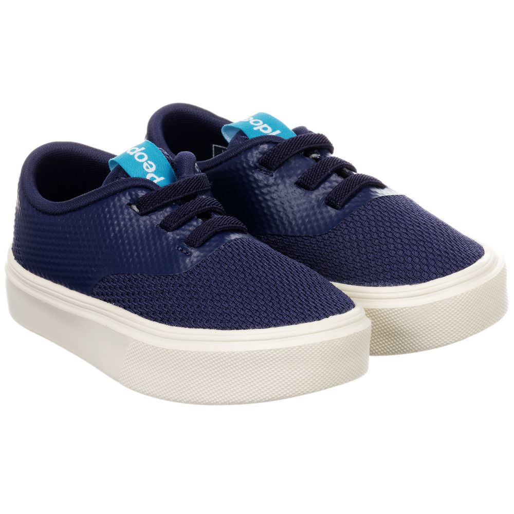 Childrensalon People Little Outlet Footwear'the Stanley' Blue 205858 Product Trainers Number 54RjL3Aq