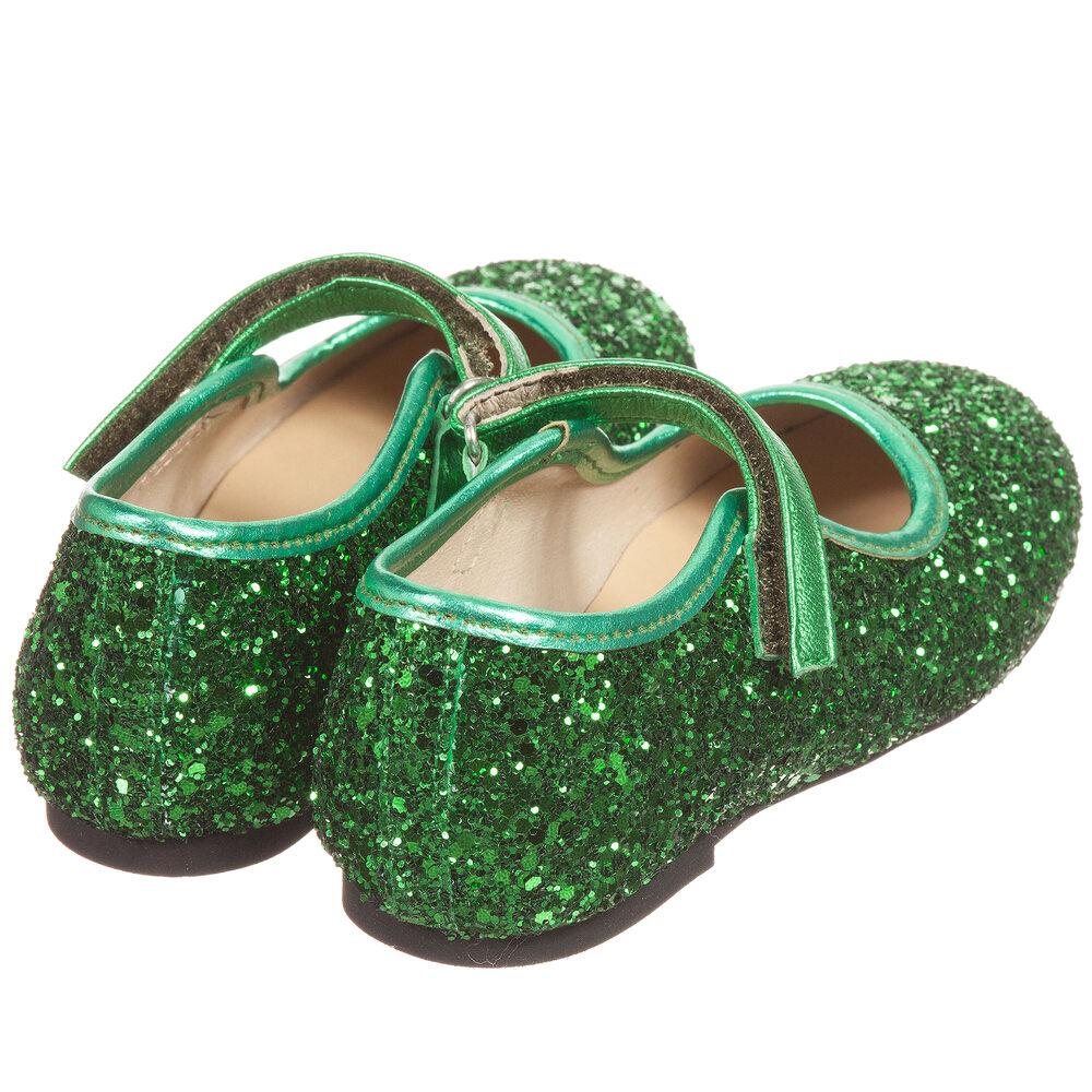 Manuela de Juan - Girls Green Glitter
