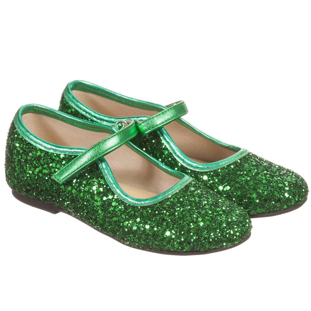girls sparkle pumps