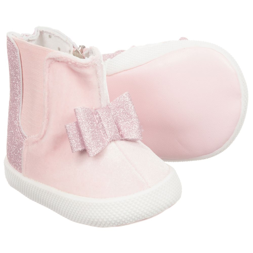 Mayoral Childrensalon Number NewbornBaby Girls Boots Outlet Product 228050 Pre walker LUGVpSzqM
