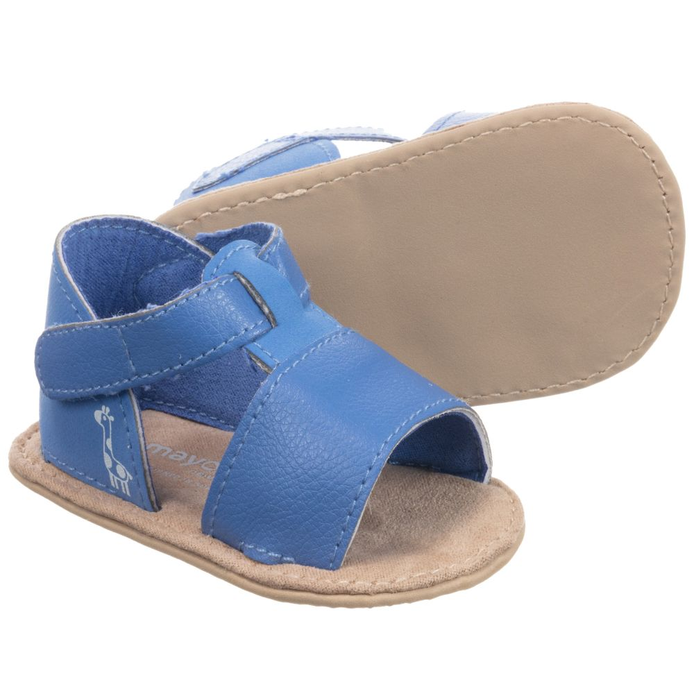 Childrensalon Product Mayoral NewbornBlue 249761 Pre walker Sandals Outlet Number rCxBthdosQ