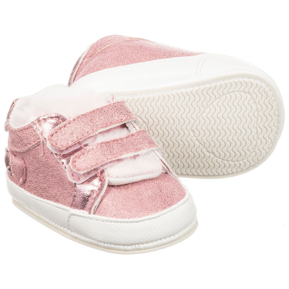 walker Mayoral NewbornGirls Childrensalon Number Pink Pre Outlet Shoes 228079 Product P8nw0Ok