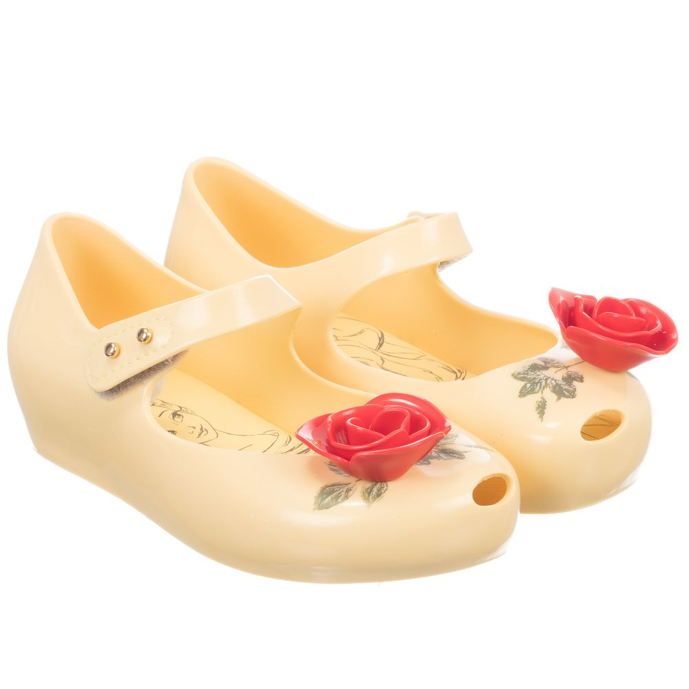 31eb2dfc6 ... Mini Melissa - Beauty & The Beast Jelly Shoes | Childrensalon ...