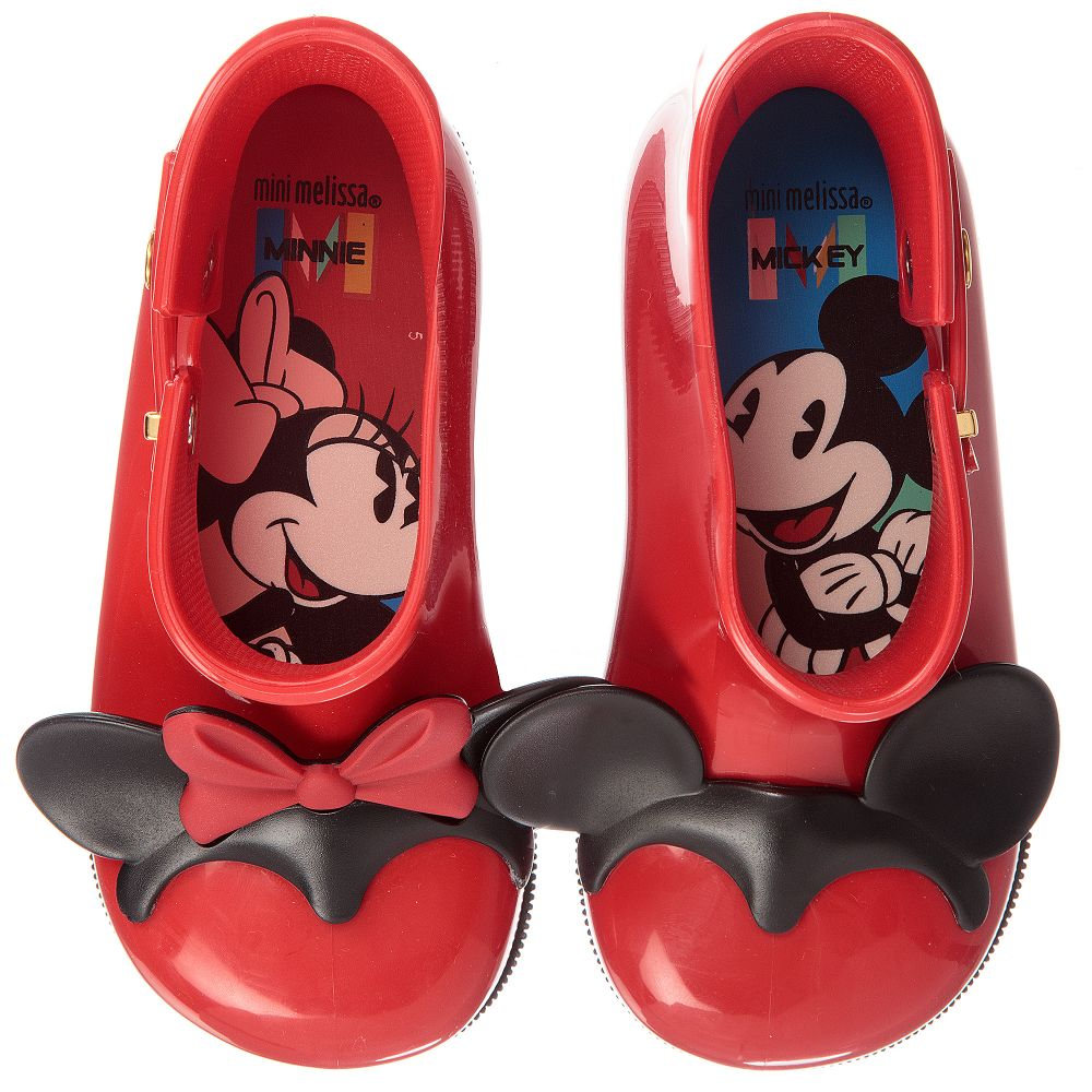 2dd61267fb1 Mini Melissa - Disney  MM Ears  Rain Boots