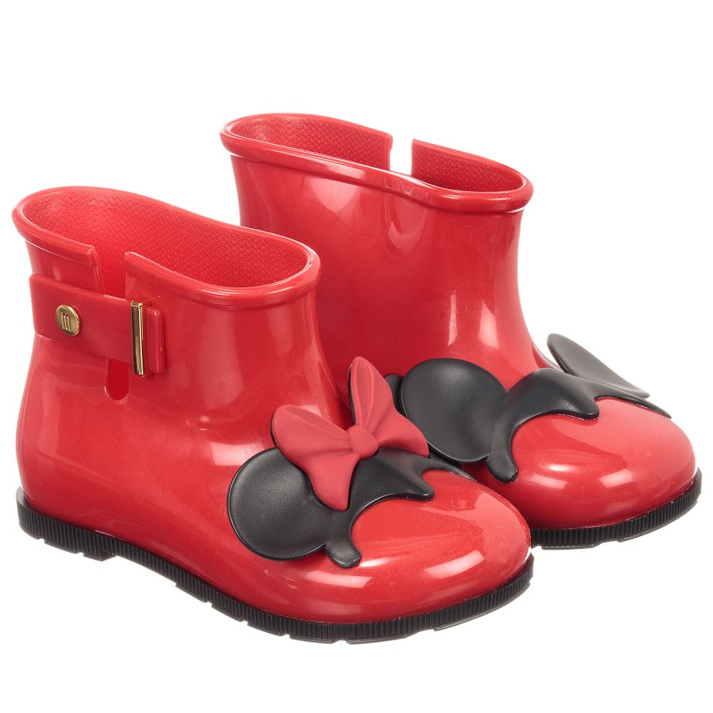 Outlet Childrensalon Mini Product 195815 Rain Boots 'mm MelissaDisney Ears' Number dCoxerBW
