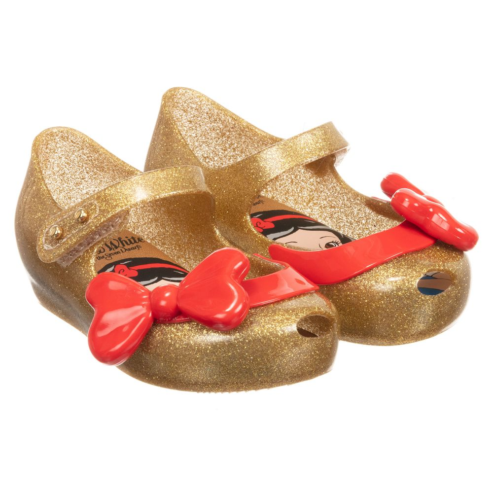 246850 Outlet Mini MelissaGirls Product Gold Shoes Childrensalon Number Jelly Disney PkiuwOTZX