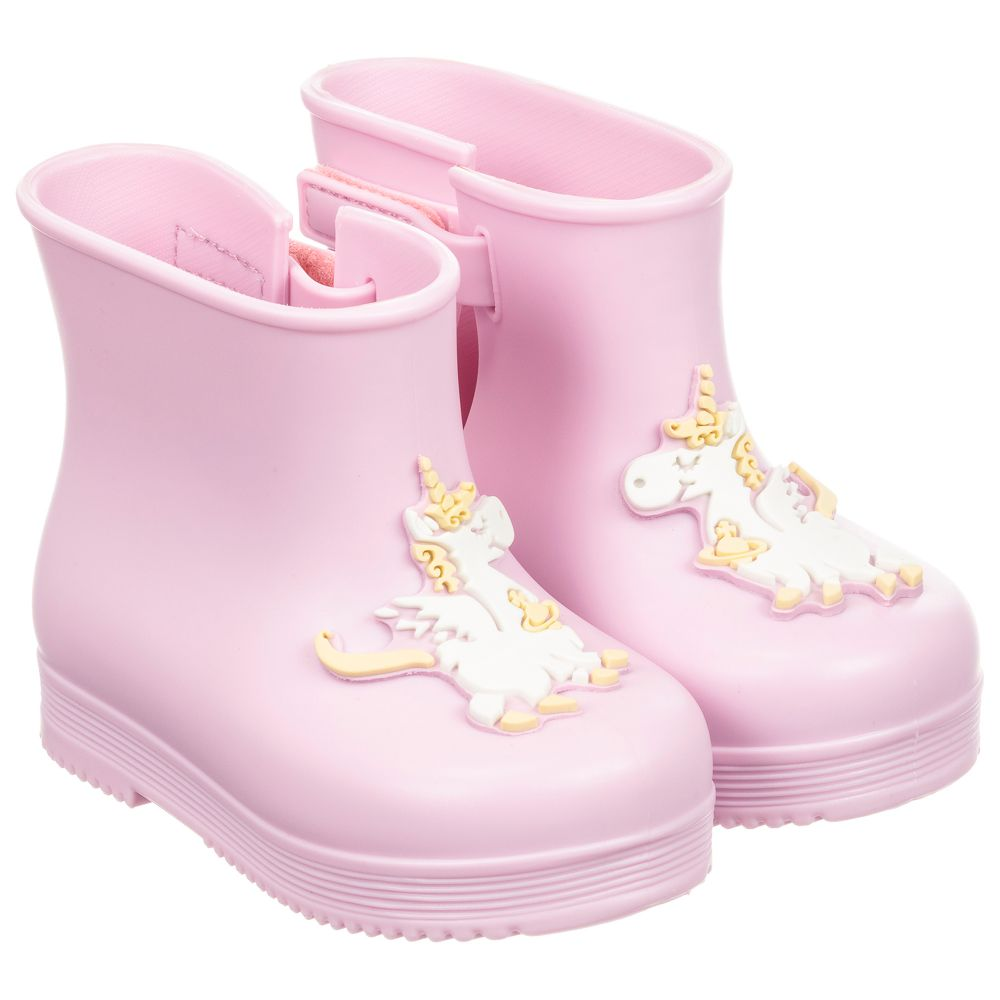 Mini Number Outlet Jelly Boots Pink 231383 MelissaGirls Product Childrensalon SUMzpVq
