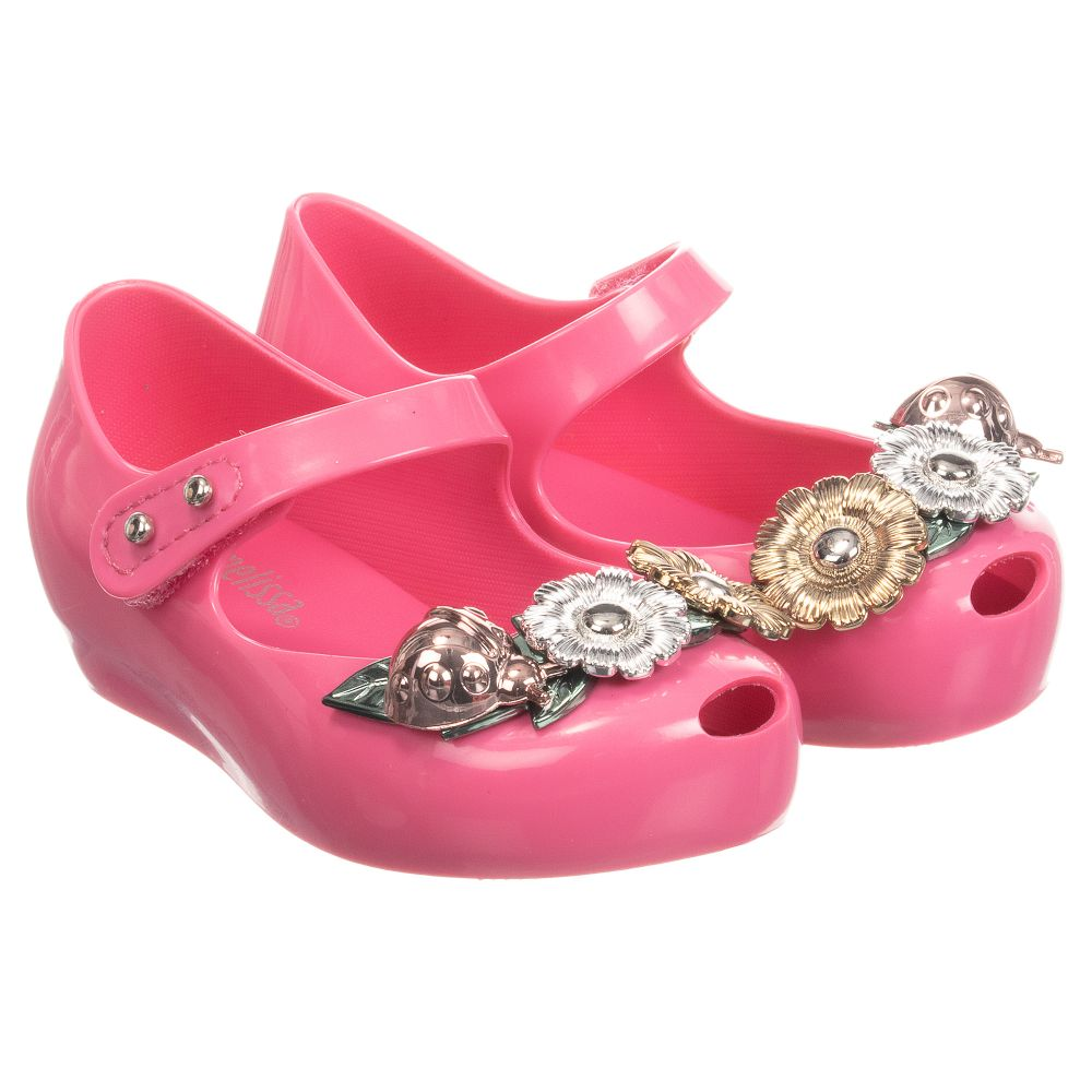 Mini Jelly Outlet Shoes Childrensalon Number 246843 MelissaPink Floral Product gyv7ImYbf6