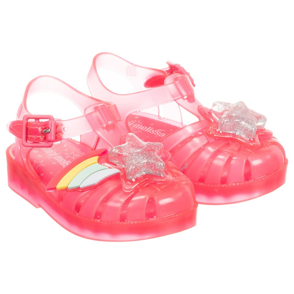 246859 Jelly Sandals Mini MelissaPink Childrensalon Outlet Rainbow Product Number 6gIb7yYfv