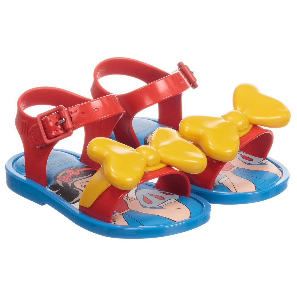 Disney Jelly Sandals MelissaRed 246864 Outlet Childrensalon Product Number Mini LUVSzjpGqM