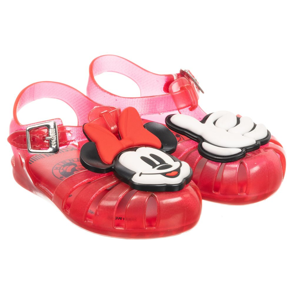 Mini Melissa - Red Disney Jelly Shoes