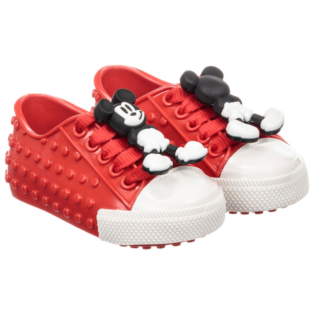 Disney Jelly MelissaRed Product Mini Trainers 231387 Outlet Number Childrensalon vNwn0m8
