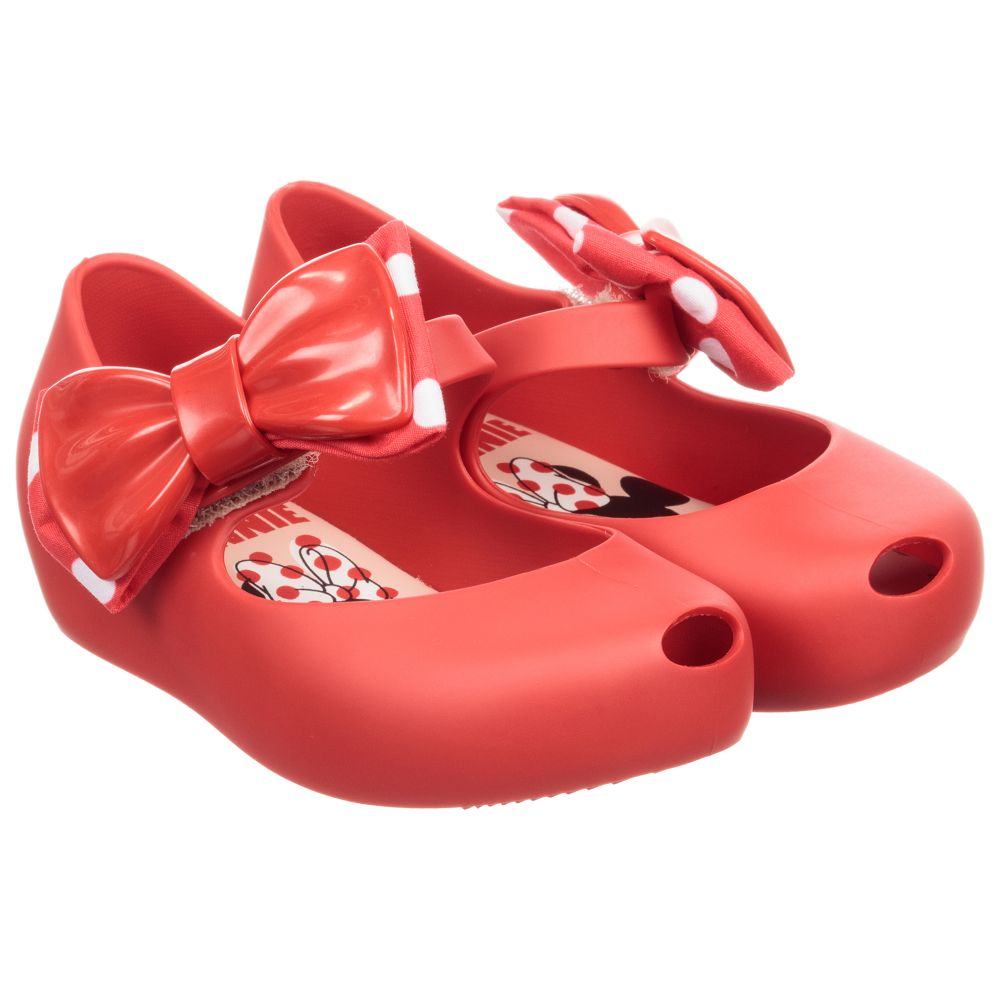 Product Minnie Outlet Mini Childrensalon MelissaRed 231385 Bow Jelly Number Shoes O8nwvmN0