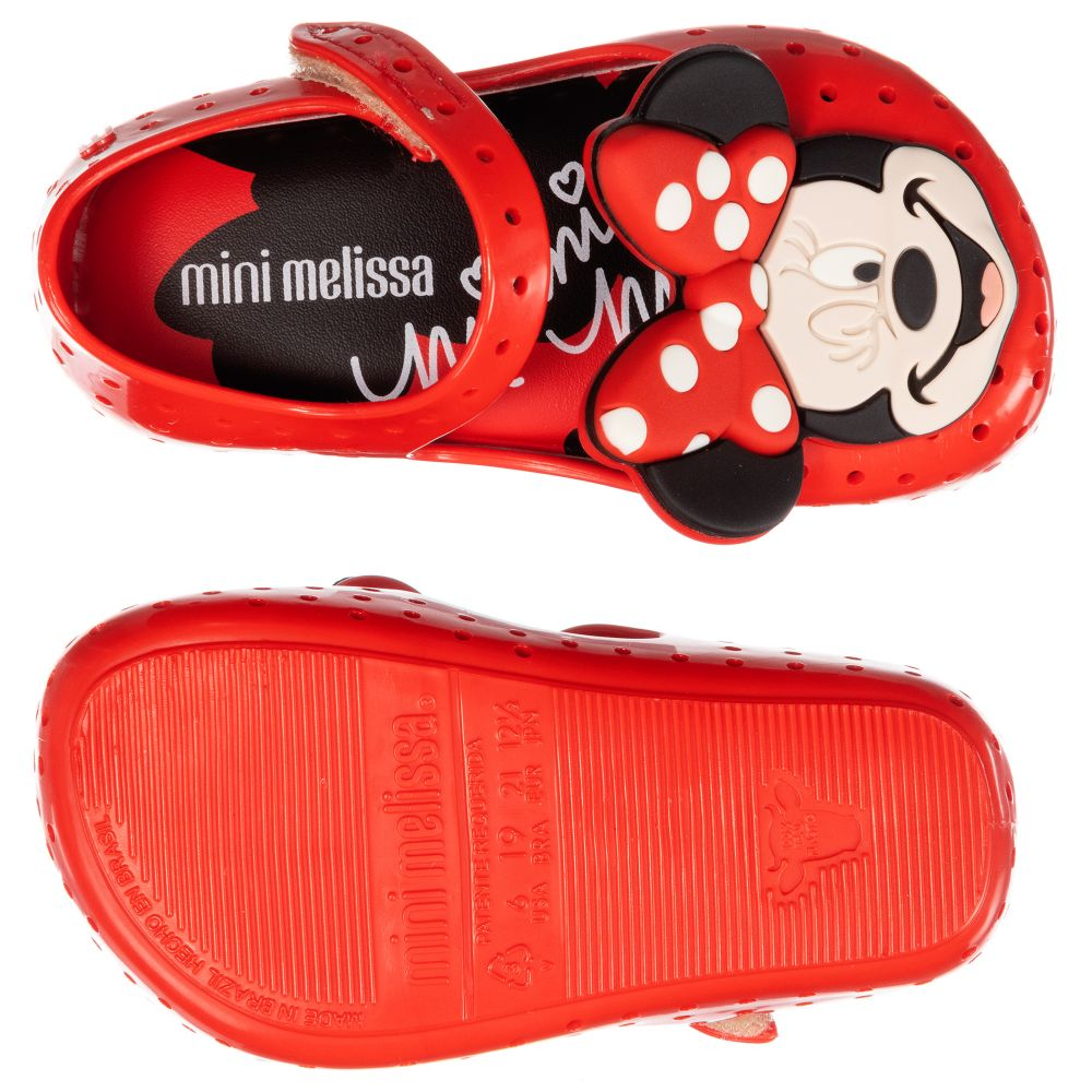 Mini Melissa - Red Minnie Mouse Jelly