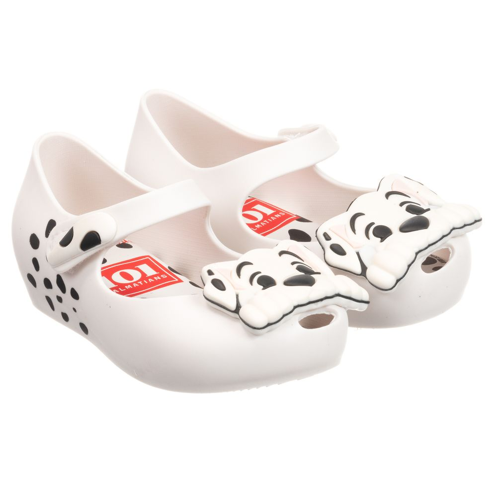 Outlet Disney MelissaWhite Number Mini Childrensalon 246868 Product Jelly Shoes DHY92IWE