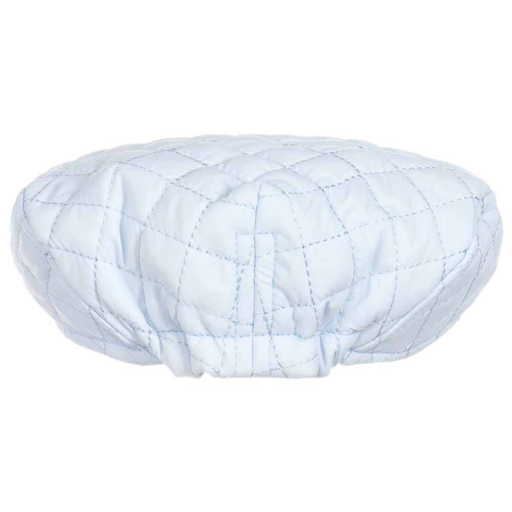 880849551 Baby Boys Blue Quilted Hat