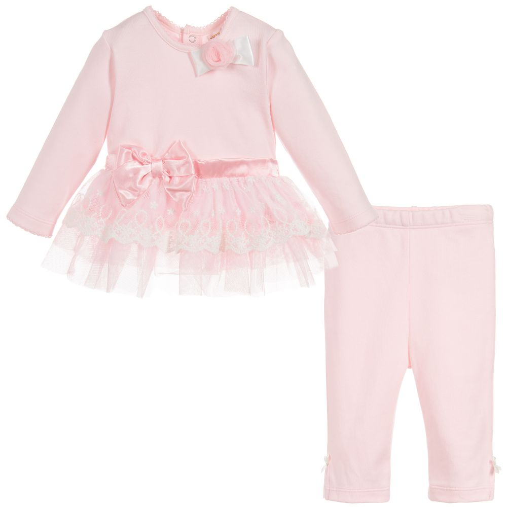 58cfcb849 Mintini Baby - Baby Girls Pink 2 Piece Outfit