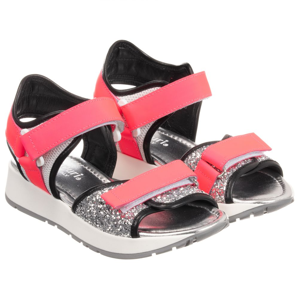 Product 236541 Outlet Number Sandals Glitter MissouriPinkamp; Leather Childrensalon kiZwPXOuT