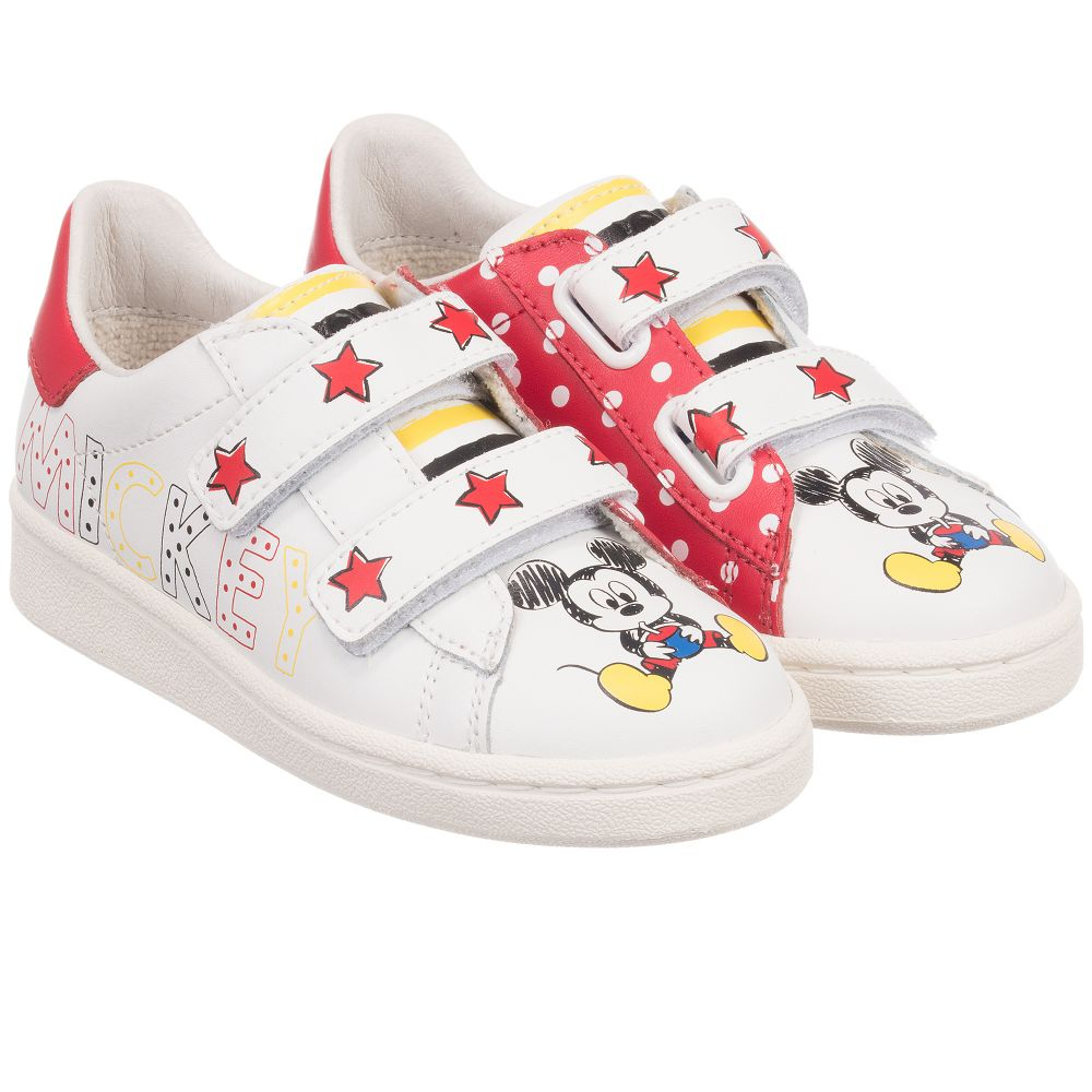 MOA Master of Arts - Disney Leather Velcro Trainers  c930621a3cf