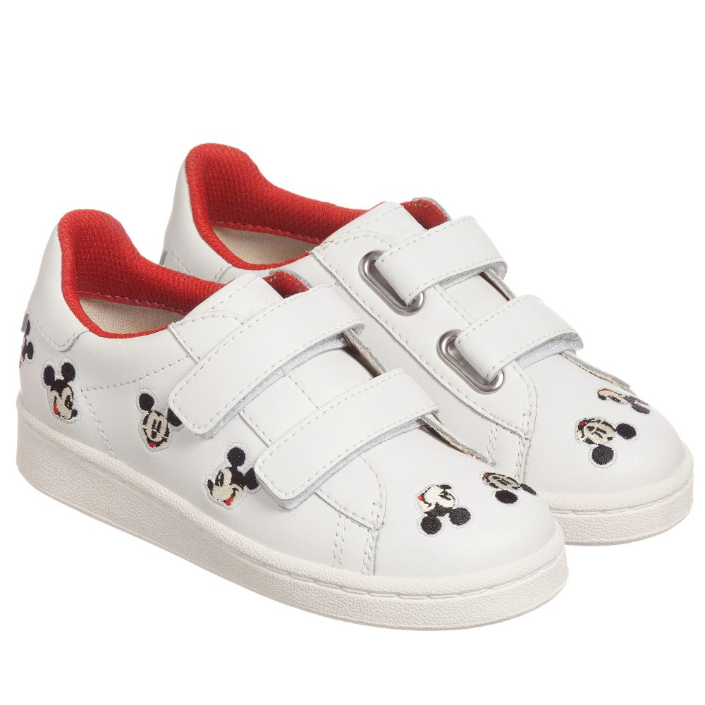 Master Disney Product Outlet Number Trainers Childrensalon 188230 ArtsWhite Moa Leather Of iXuPZk