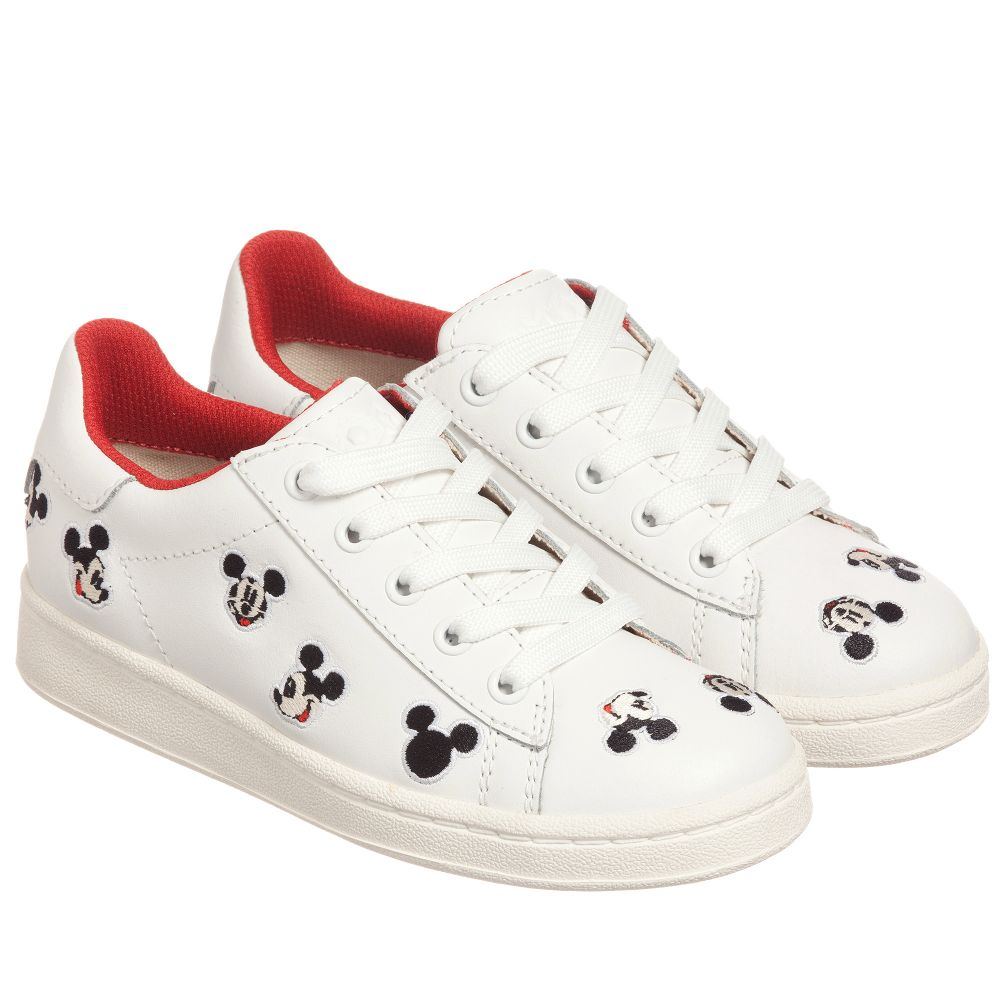 ArtsWhite Childrensalon Product Number Moa 188231 Disney Outlet Master Of Trainers Leather K1clTFJ