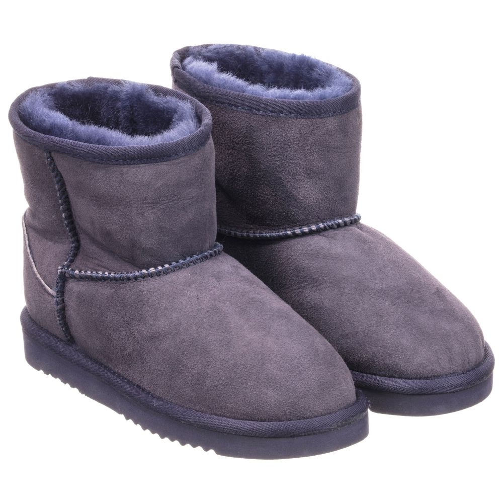Sheepskin Childrensalon MoloDry Boots Outlet 217181 Blue Product Number 1ucFJTK3l5
