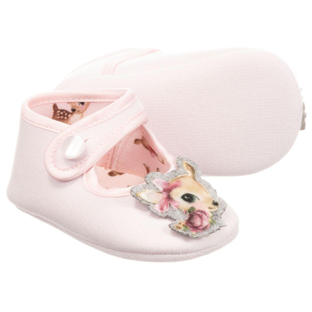 Monnalisa - Baby Girls Pink Shoes